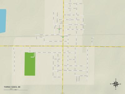 https://imgc.allpostersimages.com/img/posters/political-map-of-three-oaks-mi_u-L-PYAWFC0.jpg?p=0