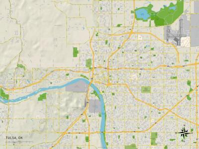 Political Map of Tulsa, OK