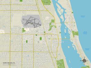 Political Map of Vero Beach, FL