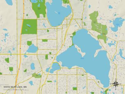 Political Map of White Bear Lake, MN