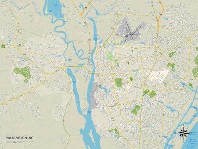 https://imgc.allpostersimages.com/img/posters/political-map-of-wilmington-nc_u-L-PYB3J80.jpg?p=0