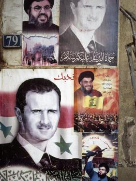 Political Posters of President Bashar Al-Assad, Syria