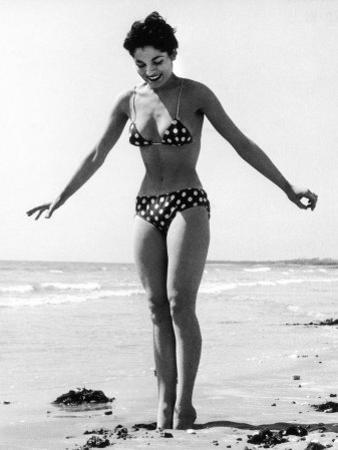Polka Dot Bikini 1950s