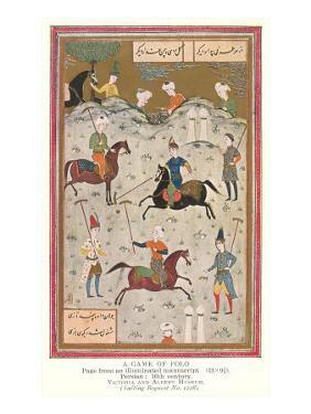 Polo, Persian Miniature