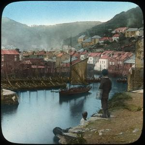 Polperro, Cornwall, Late 19th or Early 20th Century