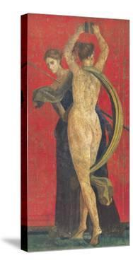 Pompeian Art, Dancing Women