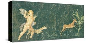 Pompeian Art - Putto Cocciatore