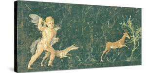Pompeian Art - Putto Cocciatore