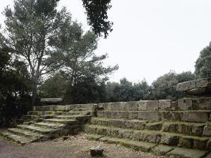 Pompeii. Triangular Forum. Doric Temple Ruins. 6th Century BC