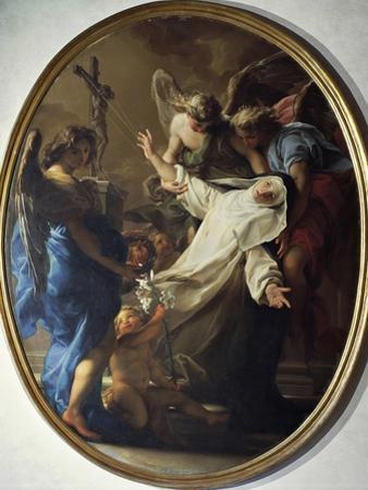 Ecstasy of St. Catherine of Siena, 1743 by Pompeo Batoni