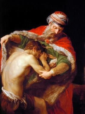 Return of the Prodigal Son, 1773 by Pompeo Batoni