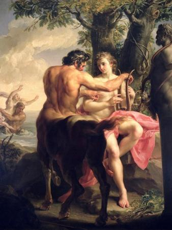 The Education of Achilles by Chiron, 1746 by Pompeo Batoni