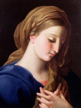 The Virgin Annunciate by Pompeo Batoni