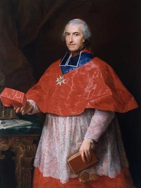 Portrait of Jean-François-Joseph Rochechouart, 1762 by Pompeo Girolamo Batoni