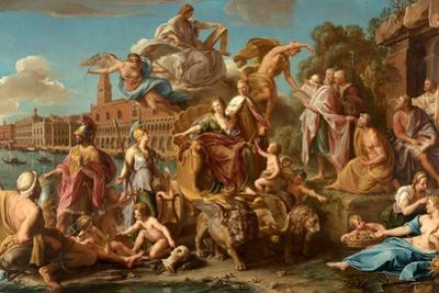 The Triumph of Venice, 1737 by Pompeo Girolamo Batoni