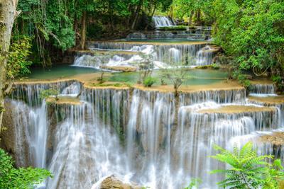 Waterfall in Kanchanaburi Province, Thailand by Pongphan Ruengchai