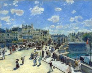 Pont Neuf, Paris by Pierre-Auguste Renoir