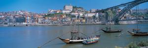Ponte De Dom Luis I and Douro River Porto Portugal