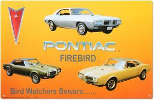 Pontiac Firebird Tin Sign