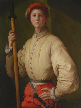 Portrait of a Halberdier (Francesco Guardi), 1528-1530 by Pontormo
