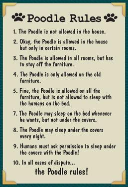 Poodle House Rules
