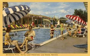 Pool, Hotel Last Frontier, Las Vegas, Nevada