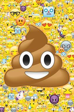 Poop Emoticon & Friends