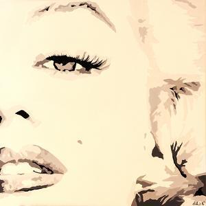 She Knows Marilyn Monroe Pop Art by Pop Art Queen