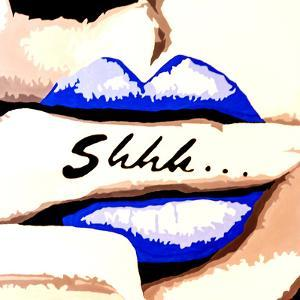 Shhh by Pop Art Queen