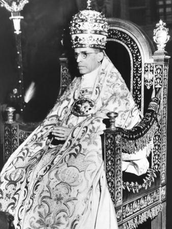 Pope Pius XII Celebrated the 10th Anniversary of His of His Papacy at the Sistine Chapel