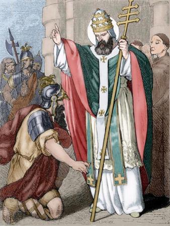 Pope Saint Leo I (390-461), Italy