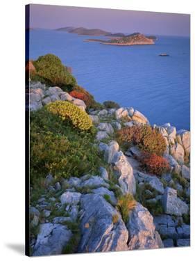 Coastal Landscape, Kornati National Park, Mana Island, Croatia, May 2009 Wwe Book by Popp-Hackner