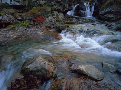 Ruisseau Du Cot (Stream) Near Cirque De Troumouse, Pyrenees, France, October 2008 by Popp-Hackner
