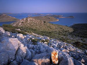 View from Levrnaka Island, Kornati National Park, Croatia, May 2009 by Popp-Hackner
