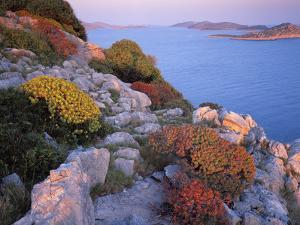 View from Mana Island South Along the Islands of Kornati National Park, Croatia, May 2009 by Popp-Hackner
