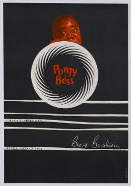 Porgy and Bess, Polish Movie Poster, 1959
