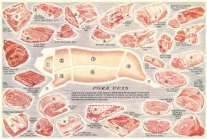 Pork Cuts Chart