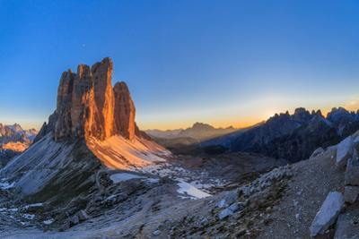 Tre Cime. Dolomite Alps, Italy by Porojnicu Stelian