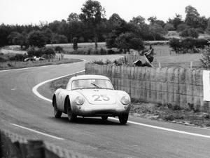 Porsche 550A Rs Coupe, Le Mans 24 Hours, France, 1956