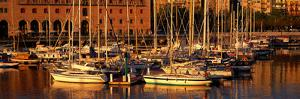 Port Vell and Catalan History Museum Barcelona Spain