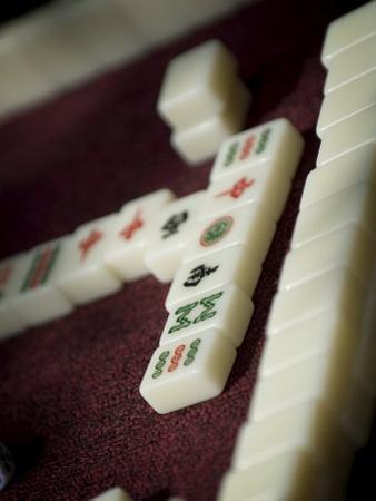 Mahjong Tiles, Dali, Yunnan, China