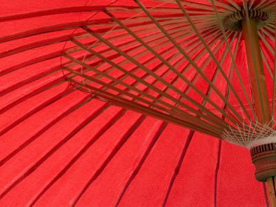 Red Umbrella, Chiang Mai, Thailand, Southeast Asia