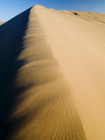 Sand Dunes, Desert, Dunhuang, Gansu, China