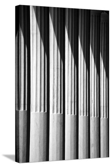 Portico-Tony Koukos-Stretched Canvas Print