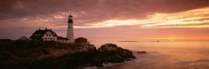 Portland Head Lighthouse, Cape Elizabeth, Maine, USA
