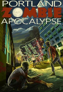 Portland, Oregon - Zombie Apocalypse