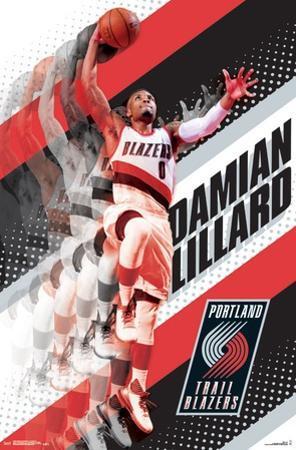 Portland Trail Blazers- D Lillard 17