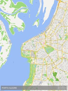 Porto Alegre, Brazil Map