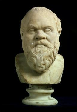 Portrait Bust of Socrates, Copy of Greek Early 4th Century BC Original