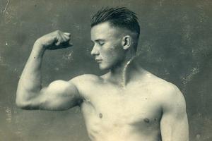 Portrait of a Bodybuilder, C.1898